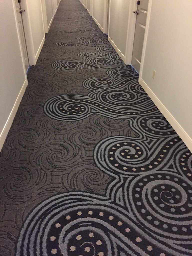 hotel corridor carpet sourcing purchasing and installation