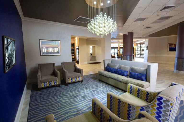 hotel lobby furniture fixtures and interior design