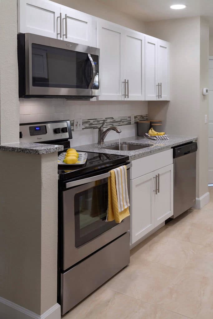 hotel kitchenette appliances and design