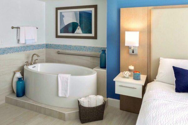hotel hospitality ff&e interior design guest bedroom bathroom furniture fixtures