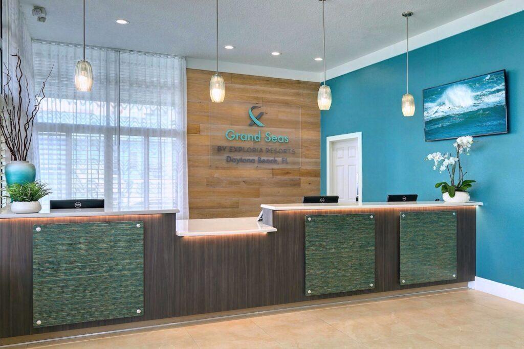 grand seas resort by exploria resorts lobby renovation & interior design