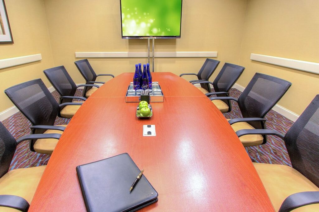 holiday inn ihg approved hotel conference room commercial office interior design vendor