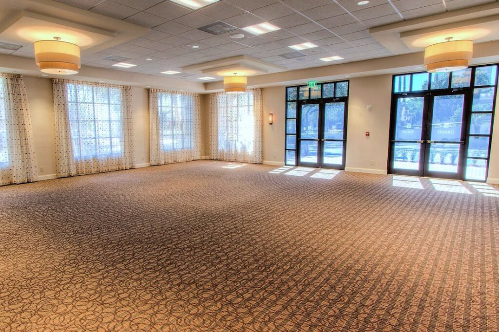 ihg approved vendor holiday inn hotel ballroom interior design by sena hospitality design