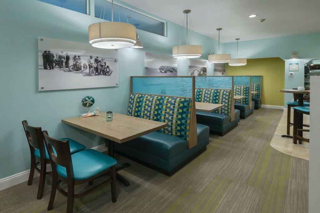 beach side cafe after restaurant renovation