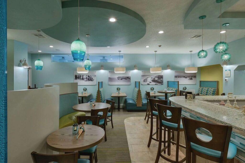 grand seas beach cafe restaurant interior design