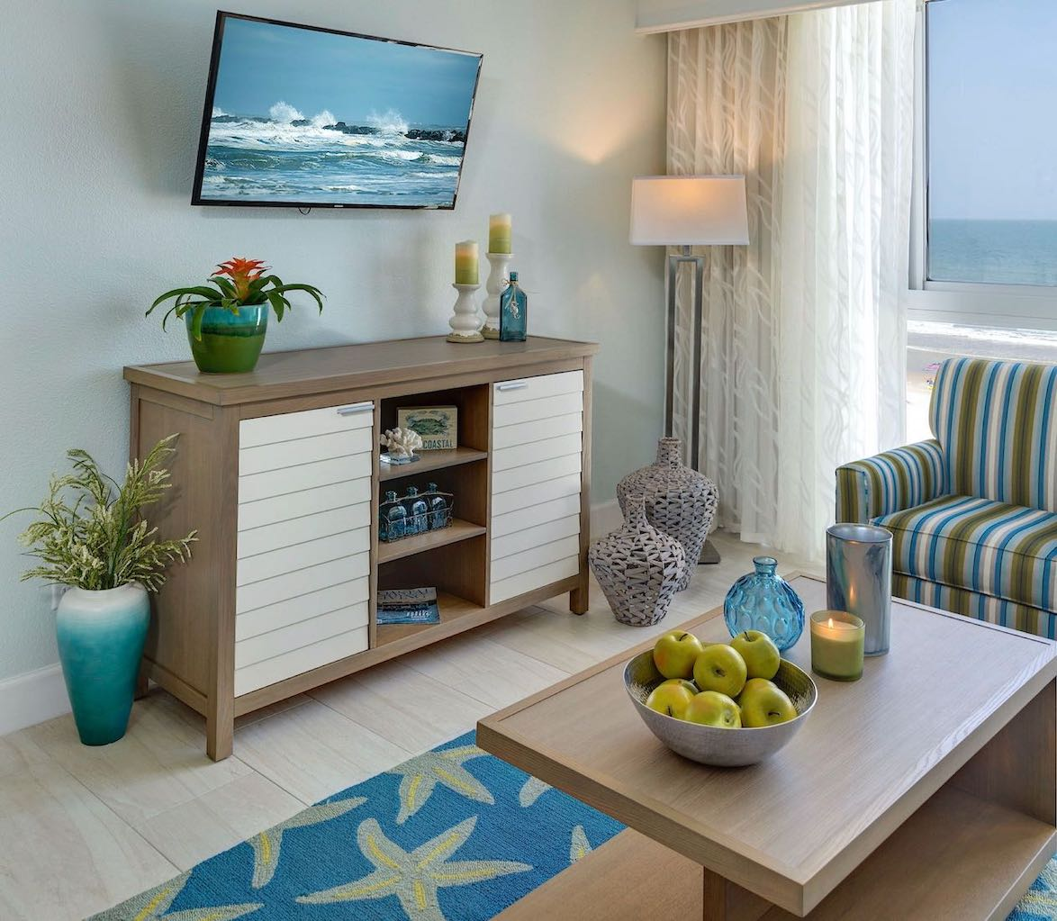grand seas by exploria resorts hotel room ff&e and interior design by sena hospitality design